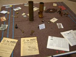Loisirs du poilu - Bataille de Verdun