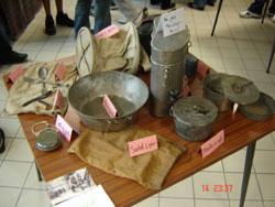 Vaisselle du poilu - Bataille de Verdun