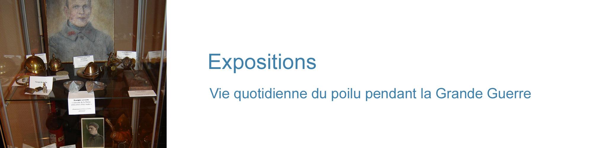 Expositions poilus guerre 14-18