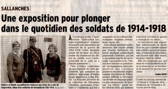 Exposition Sallanches 10/01/2015